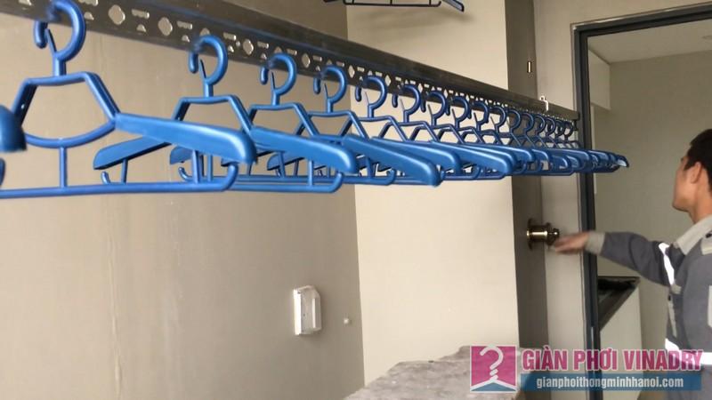 Lắp giàn phơi đồ thông minh nhà chị Thảo, chung cư CT2E VOV Mễ Trì, Nam Từ Liêm, Hà Nội - 11