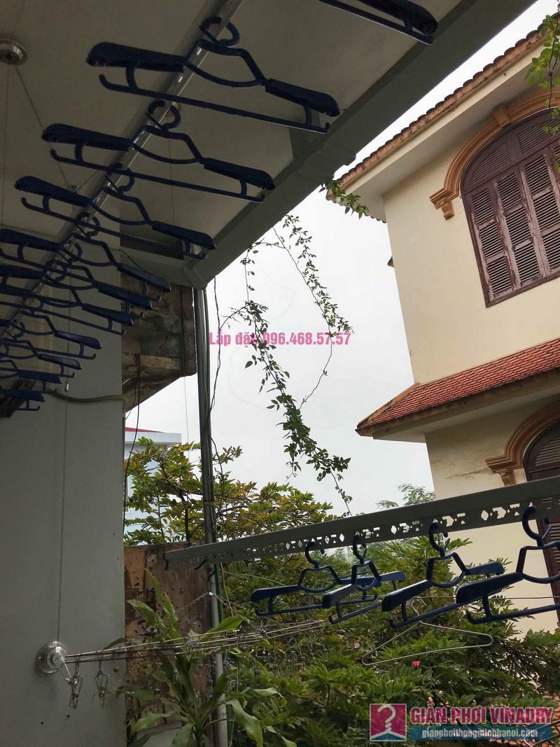 Lắp đặt giàn phơi thông minh nhà anh Sơn, ngách 117/18 phố Nguyễn Sơn, Long Biên, Hà Nội - 01