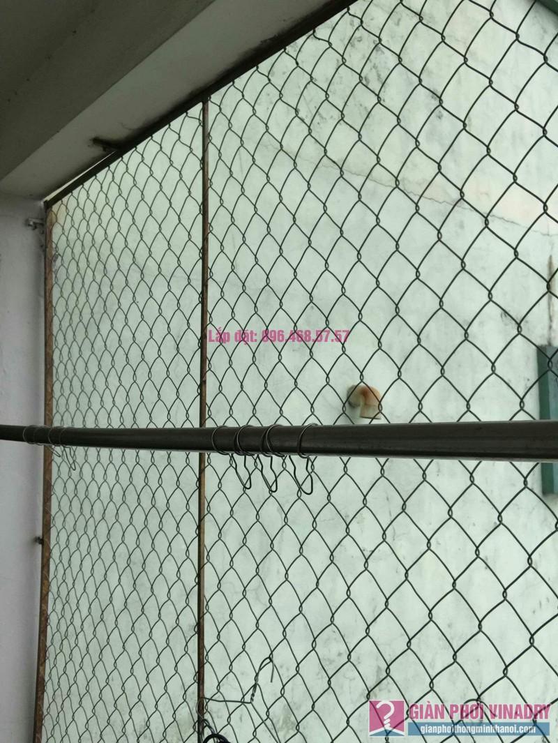 Sửa giàn phơi nhà chị Huệ, chung cư mini số 57C, ngõ 325 Kim Ngưu, Hai Bà Trưng, Hà Nội - 02