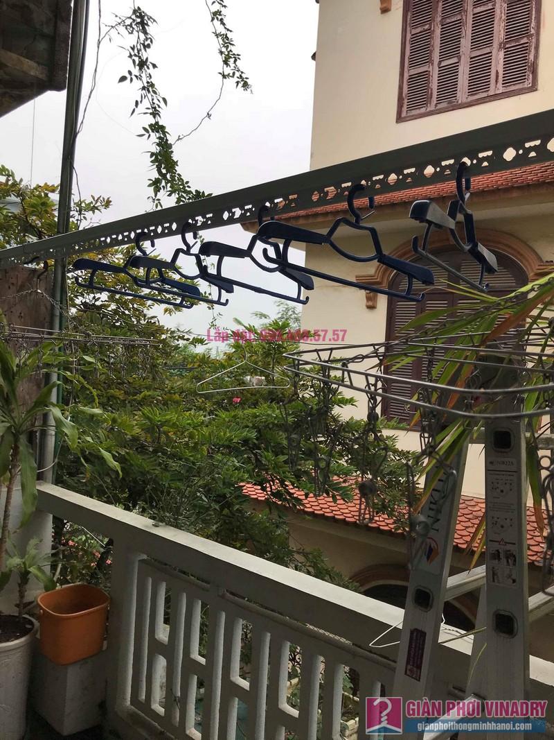 Lắp đặt giàn phơi thông minh nhà anh Sơn, ngách 117/18 phố Nguyễn Sơn, Long Biên, Hà Nội - 02