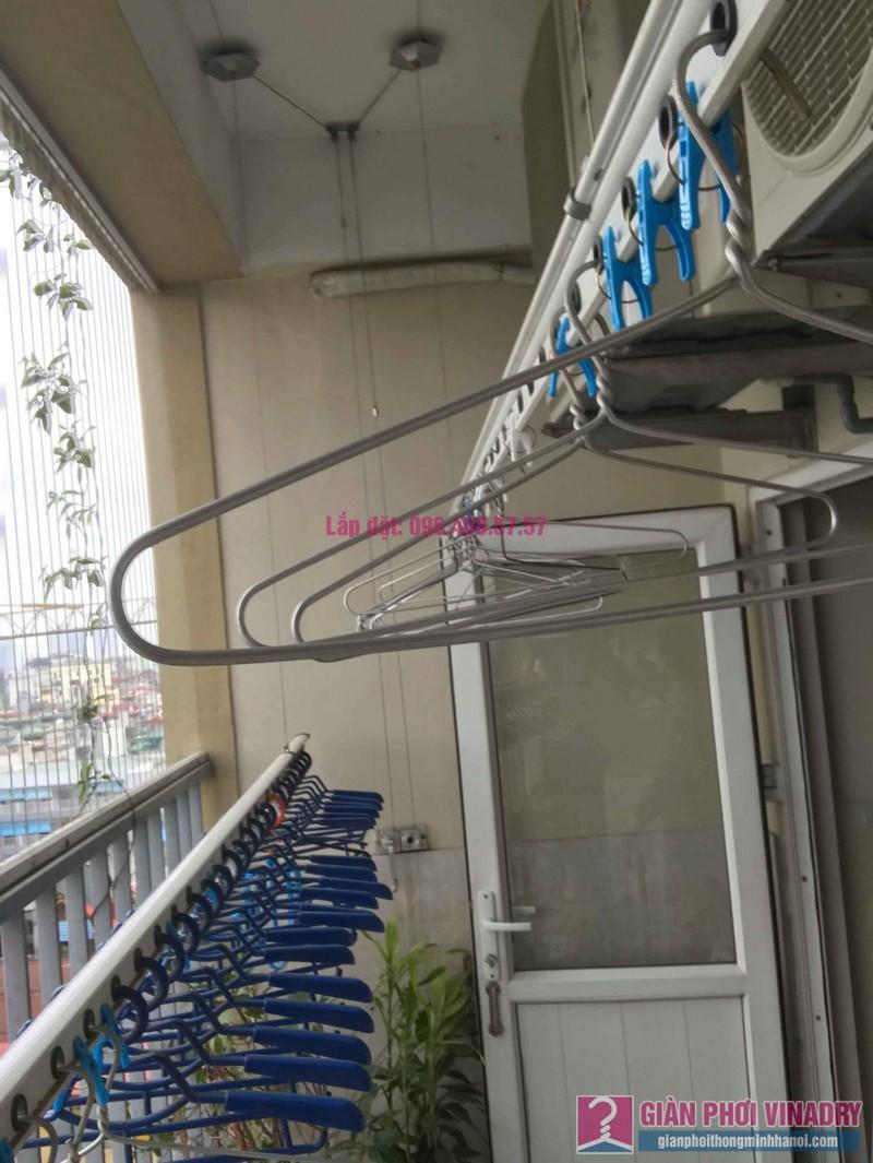 Sửa giàn phơi nhà chị Thảo, chung cư Thăng Long Garden, Hai Bà Trưng, Hà Nội - 03