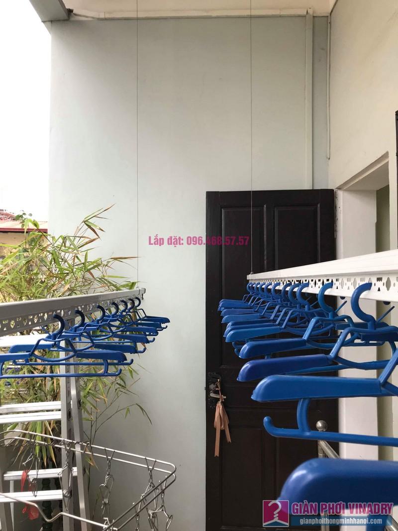 Lắp đặt giàn phơi thông minh nhà anh Sơn, ngách 117/18 phố Nguyễn Sơn, Long Biên, Hà Nội - 04
