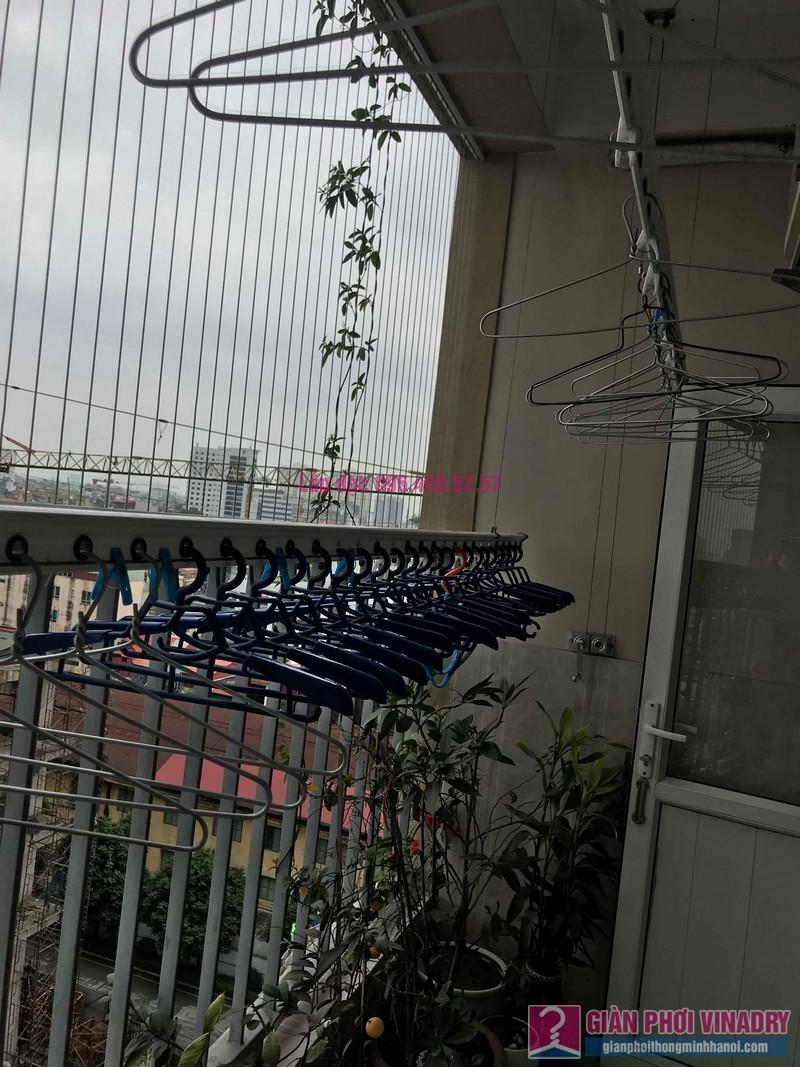 Sửa giàn phơi nhà chị Thảo, chung cư Thăng Long Garden, Hai Bà Trưng, Hà Nội - 04