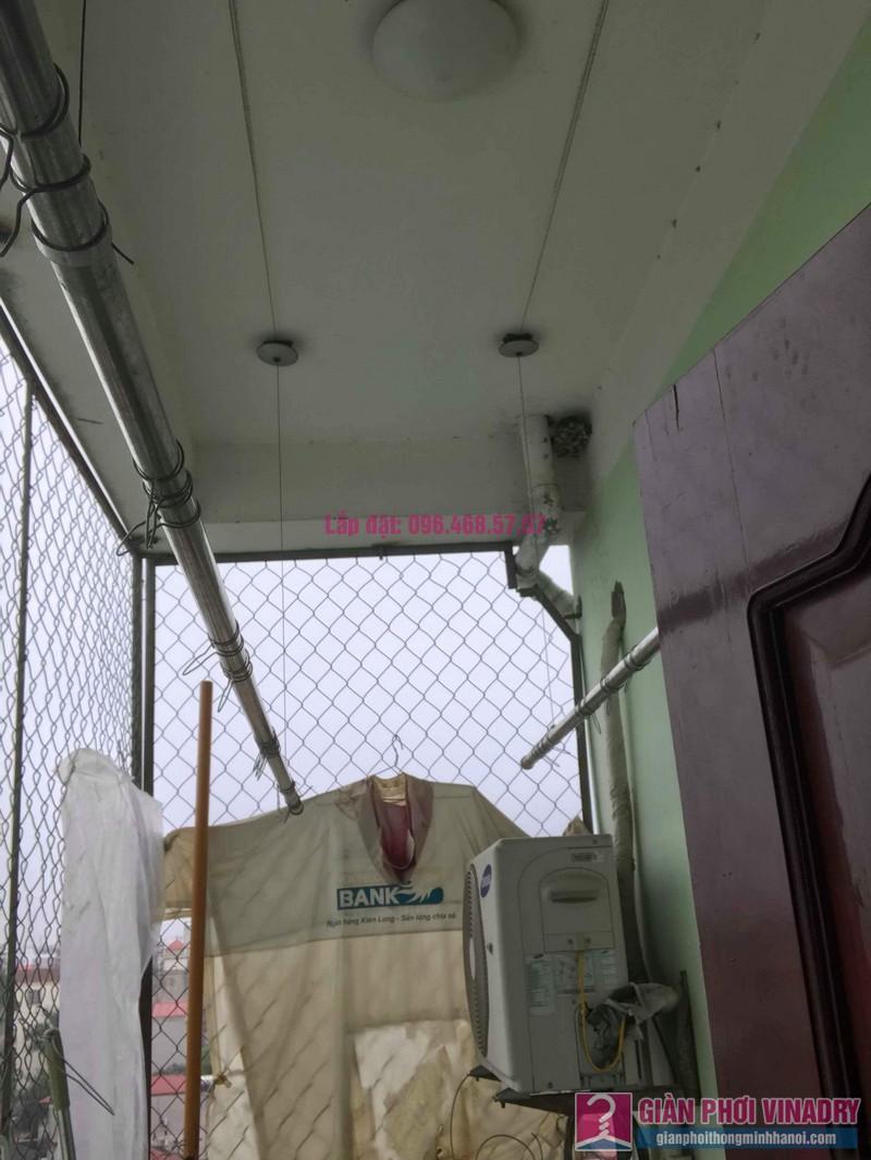 Sửa giàn phơi nhà chị Huệ, chung cư mini số 57C, ngõ 325 Kim Ngưu, Hai Bà Trưng, Hà Nội - 05