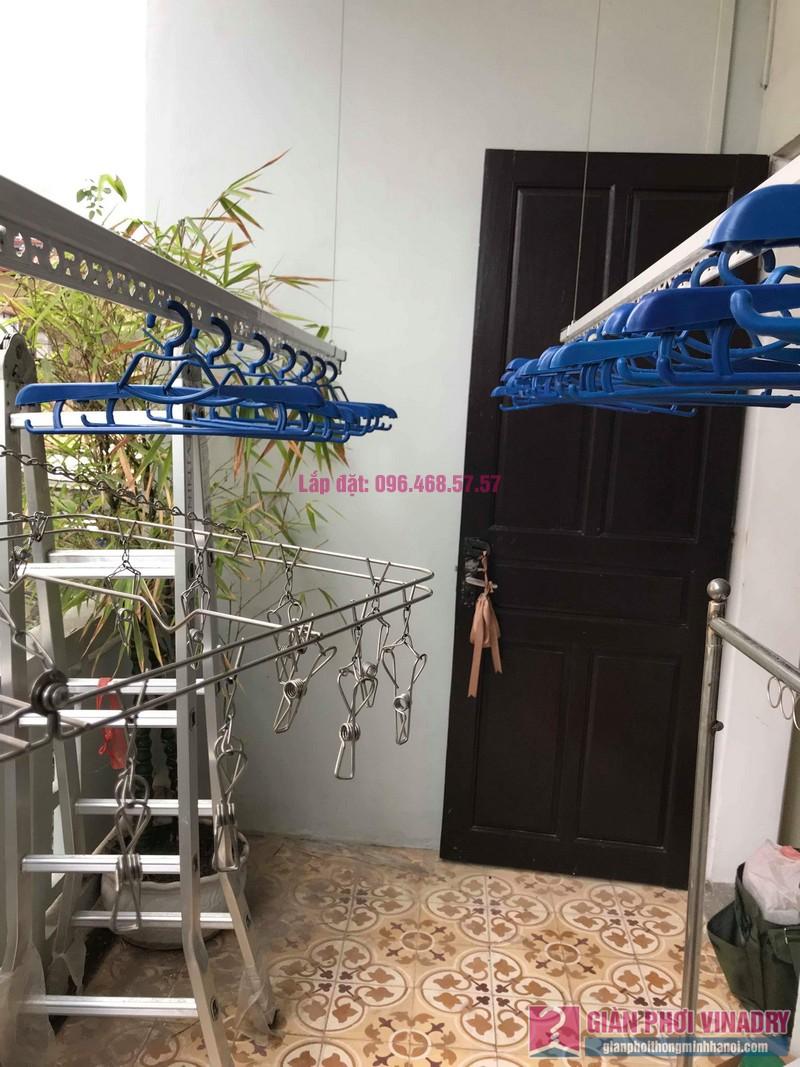 Lắp đặt giàn phơi thông minh nhà anh Sơn, ngách 117/18 phố Nguyễn Sơn, Long Biên, Hà Nội - 05