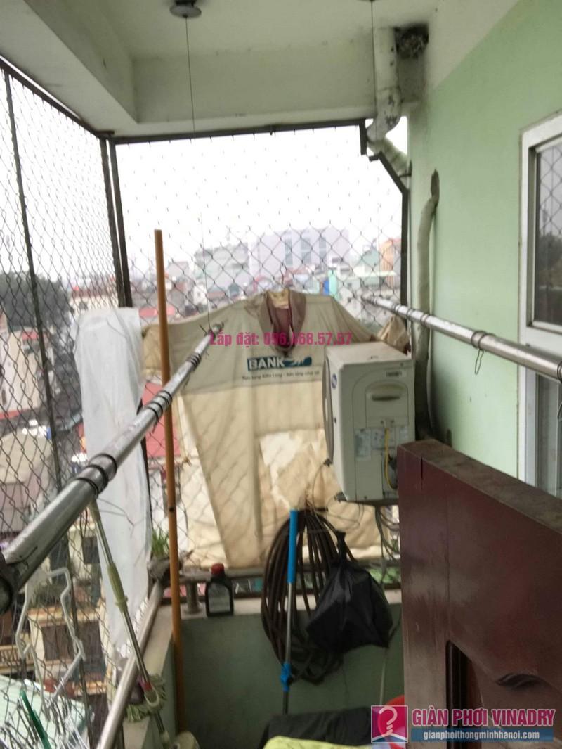 Sửa giàn phơi nhà chị Huệ, chung cư mini số 57C, ngõ 325 Kim Ngưu, Hai Bà Trưng, Hà Nội - 06