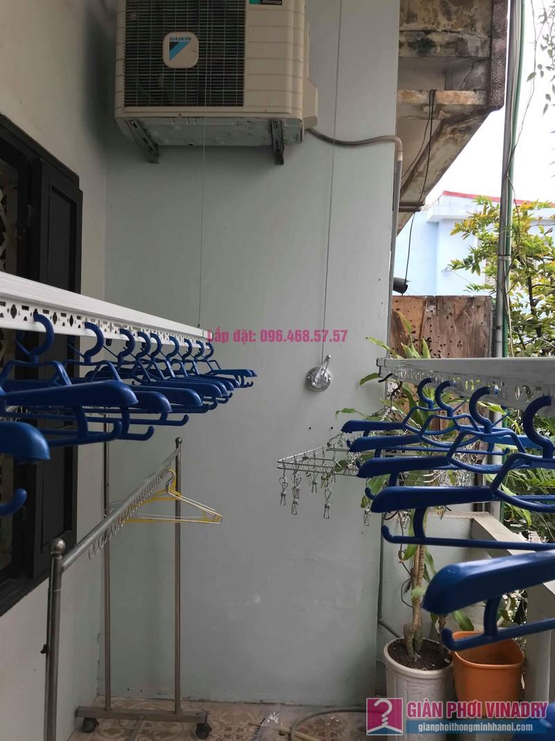 Lắp đặt giàn phơi thông minh nhà anh Sơn, ngách 117/18 phố Nguyễn Sơn, Long Biên, Hà Nội - 06