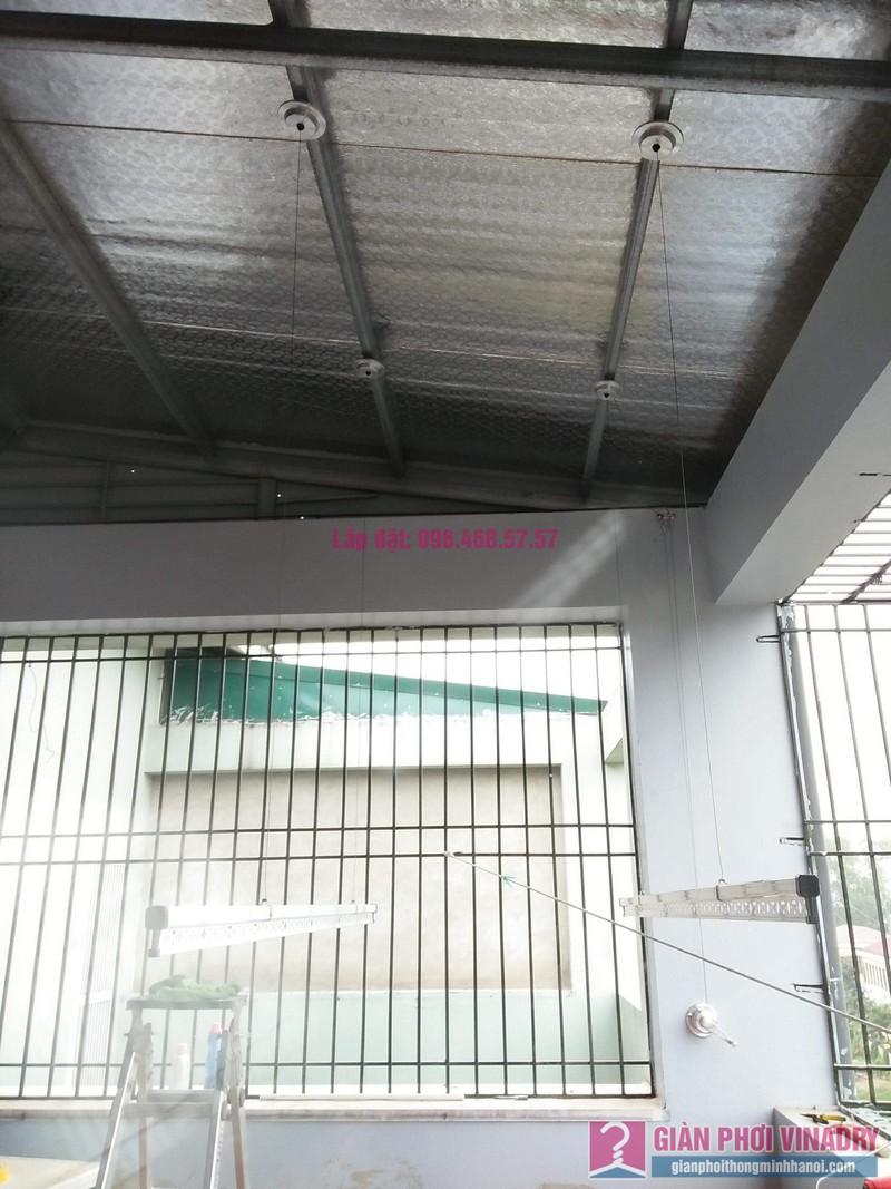 Lắp giàn phơi nhà chị Minh, liền kề 41, KĐT mới Vân Canh, Hoài Đức - 07