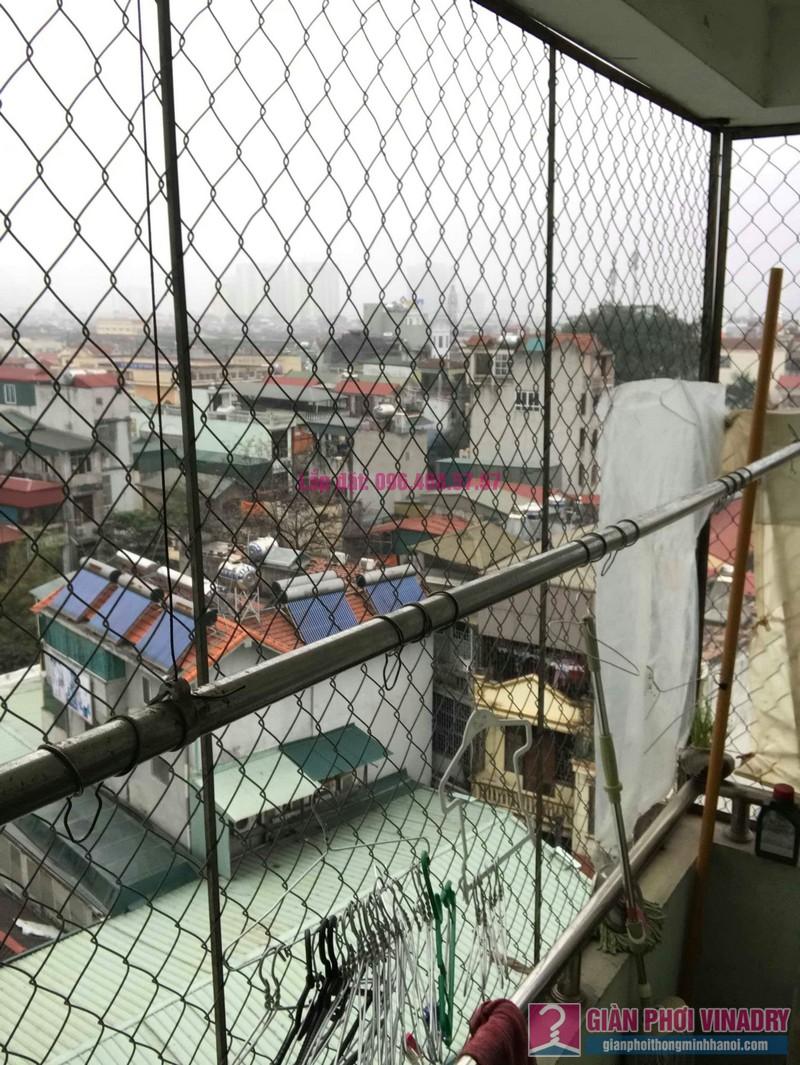 Sửa giàn phơi nhà chị Huệ, chung cư mini số 57C, ngõ 325 Kim Ngưu, Hai Bà Trưng, Hà Nội - 07
