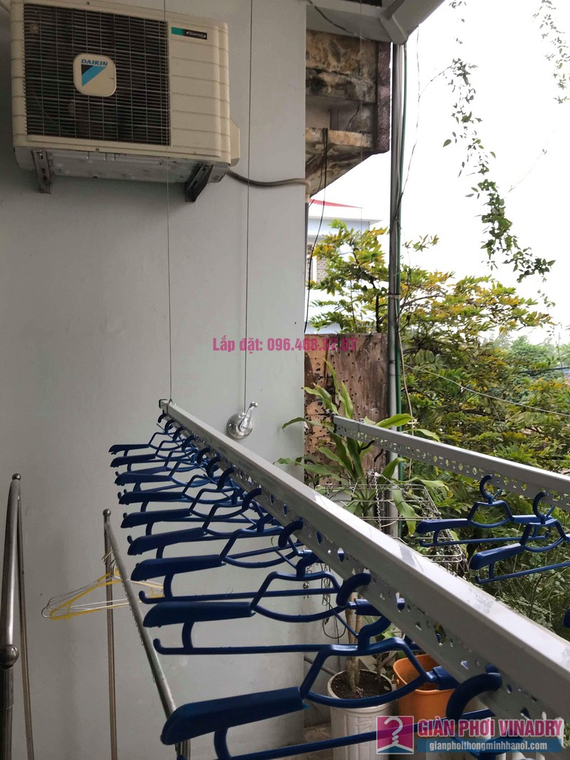 Lắp đặt giàn phơi thông minh nhà anh Sơn, ngách 117/18 phố Nguyễn Sơn, Long Biên, Hà Nội - 07