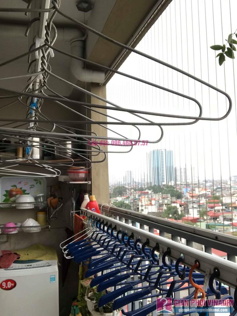 Sửa giàn phơi nhà chị Thảo, chung cư Thăng Long Garden, Hai Bà Trưng, Hà Nội - 07