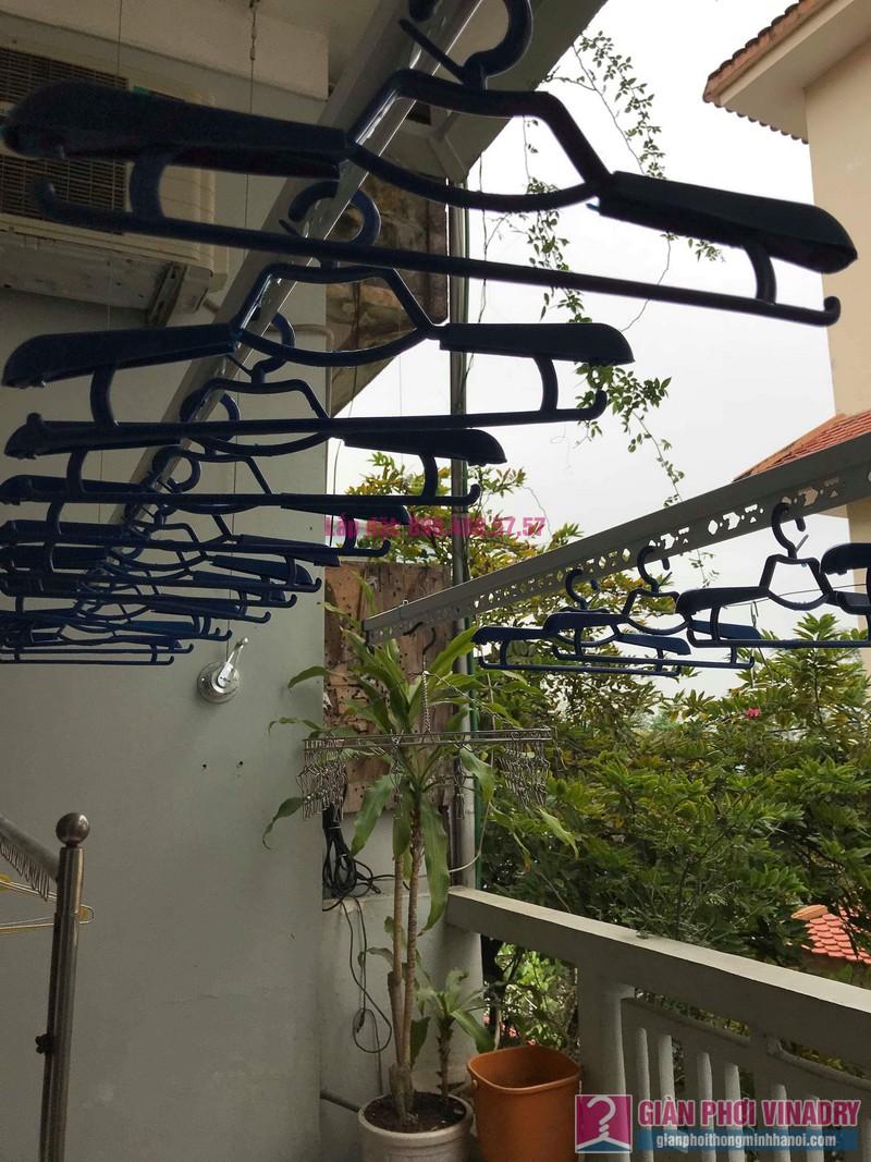 Lắp đặt giàn phơi thông minh nhà anh Sơn, ngách 117/18 phố Nguyễn Sơn, Long Biên, Hà Nội - 08