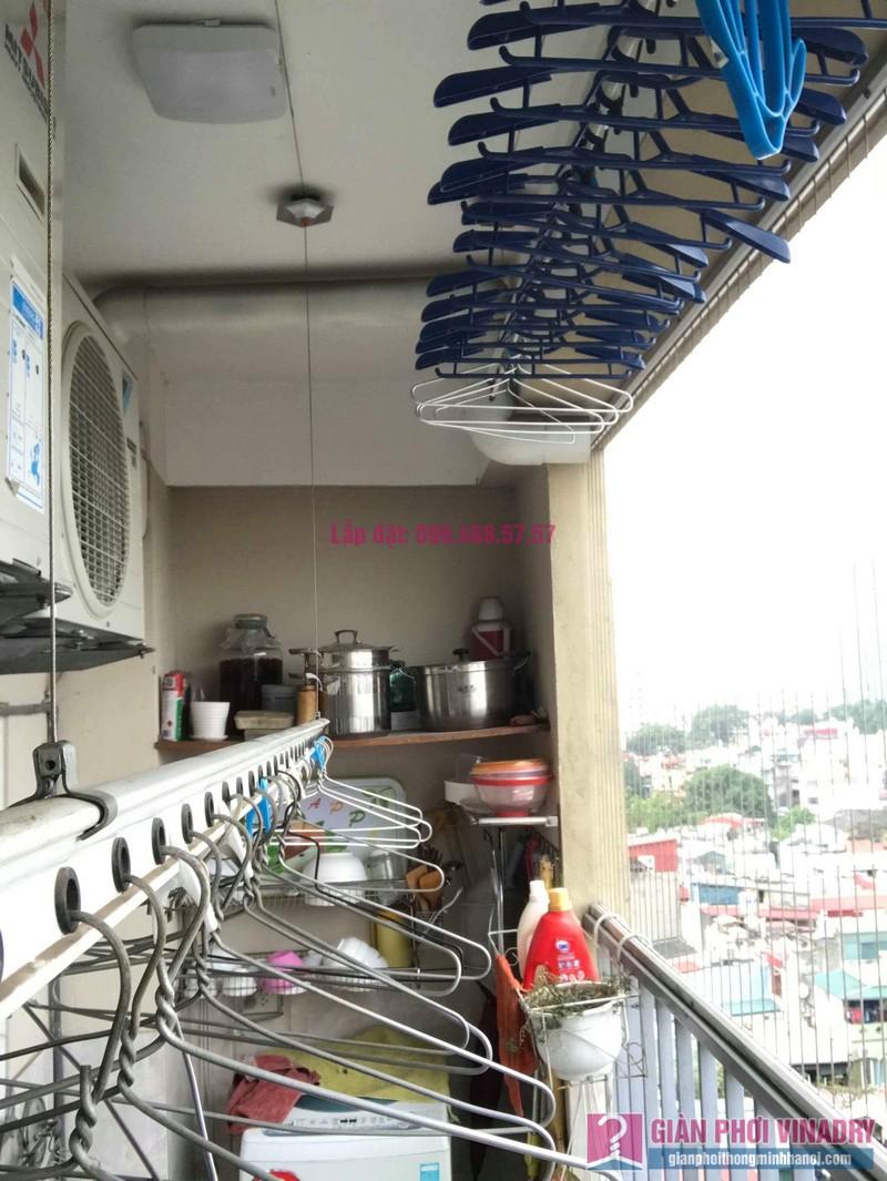 Sửa giàn phơi nhà chị Thảo, chung cư Thăng Long Garden, Hai Bà Trưng, Hà Nội - 08