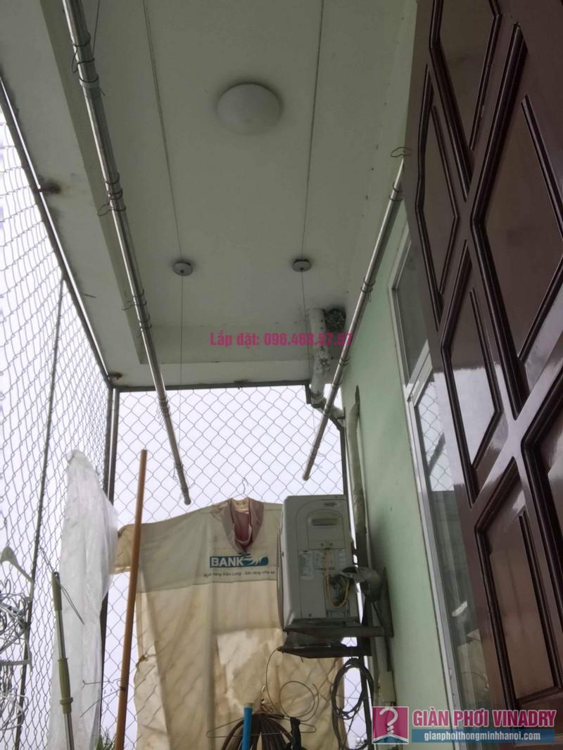Sửa giàn phơi nhà chị Huệ, chung cư mini số 57C, ngõ 325 Kim Ngưu, Hai Bà Trưng, Hà Nội - 09