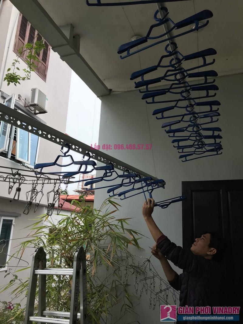 Lắp đặt giàn phơi thông minh nhà anh Sơn, ngách 117/18 phố Nguyễn Sơn, Long Biên, Hà Nội - 09