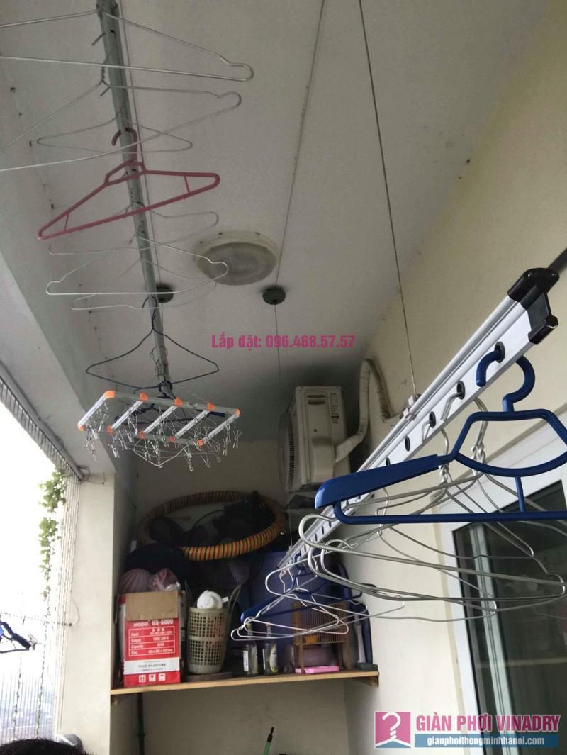 Sửa giàn phơi nhà anh Chính, CT1a chung cư Nam Đô Complex, Hoàng Mai, Hà Nội - 01