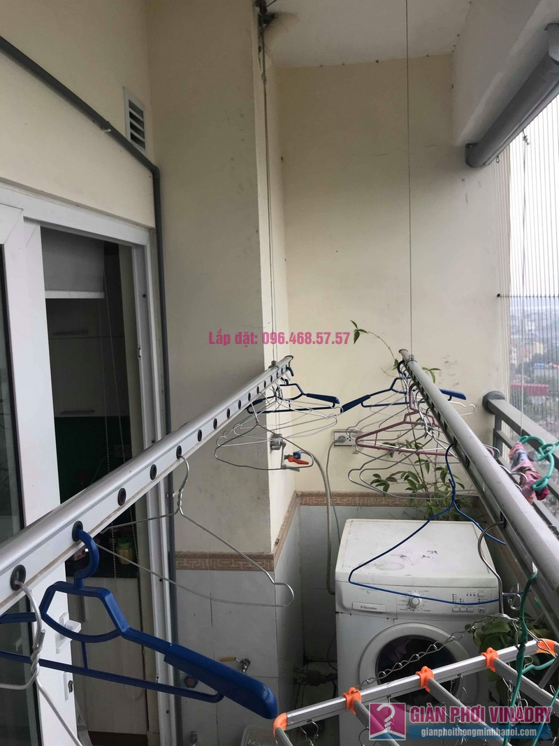 Sửa giàn phơi nhà anh Chính, CT1a chung cư Nam Đô Complex, Hoàng Mai, Hà Nội - 02