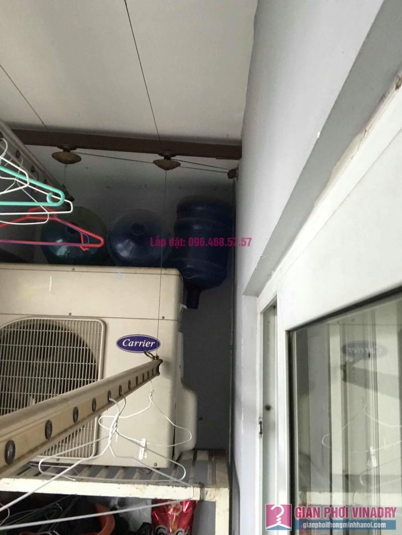 Sửa giàn phơi thông minh nhập khẩu nhà chị Hằng, chung cư Cienco1, Thanh Xuân, Hà Nội - 04
