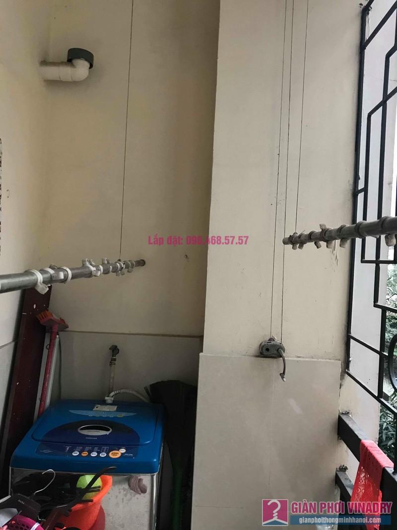 Sửa giàn phơi Ba Sao nhà chị Ngoan chung cư 699 Trương Định, Hoàng Mai, Hà Nội - 04