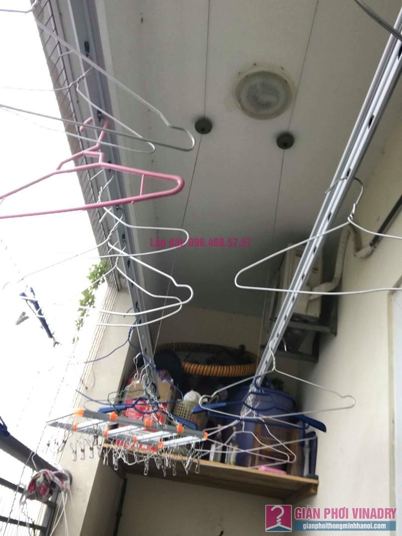 Sửa giàn phơi nhà anh Chính, CT1a chung cư Nam Đô Complex, Hoàng Mai, Hà Nội - 05