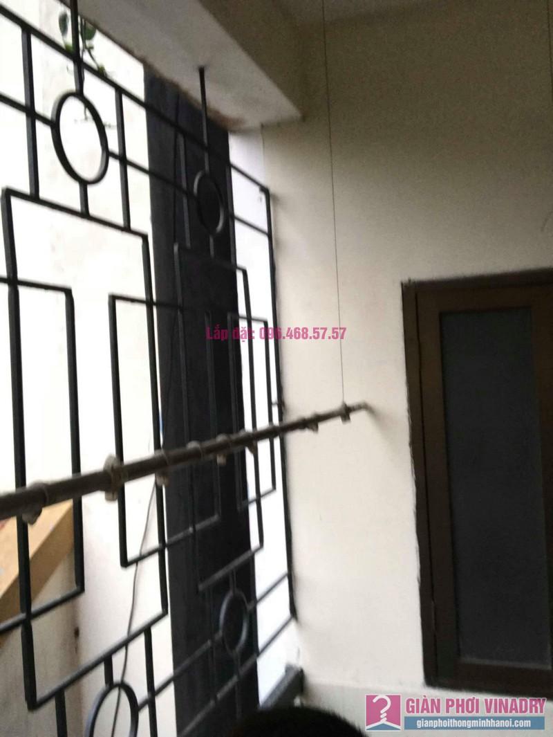 Sửa giàn phơi Ba Sao nhà chị Ngoan chung cư 699 Trương Định, Hoàng Mai, Hà Nội - 05