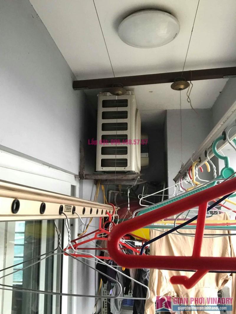 Sửa giàn phơi thông minh nhập khẩu nhà chị Hằng, chung cư Cienco1, Thanh Xuân, Hà Nội - 07