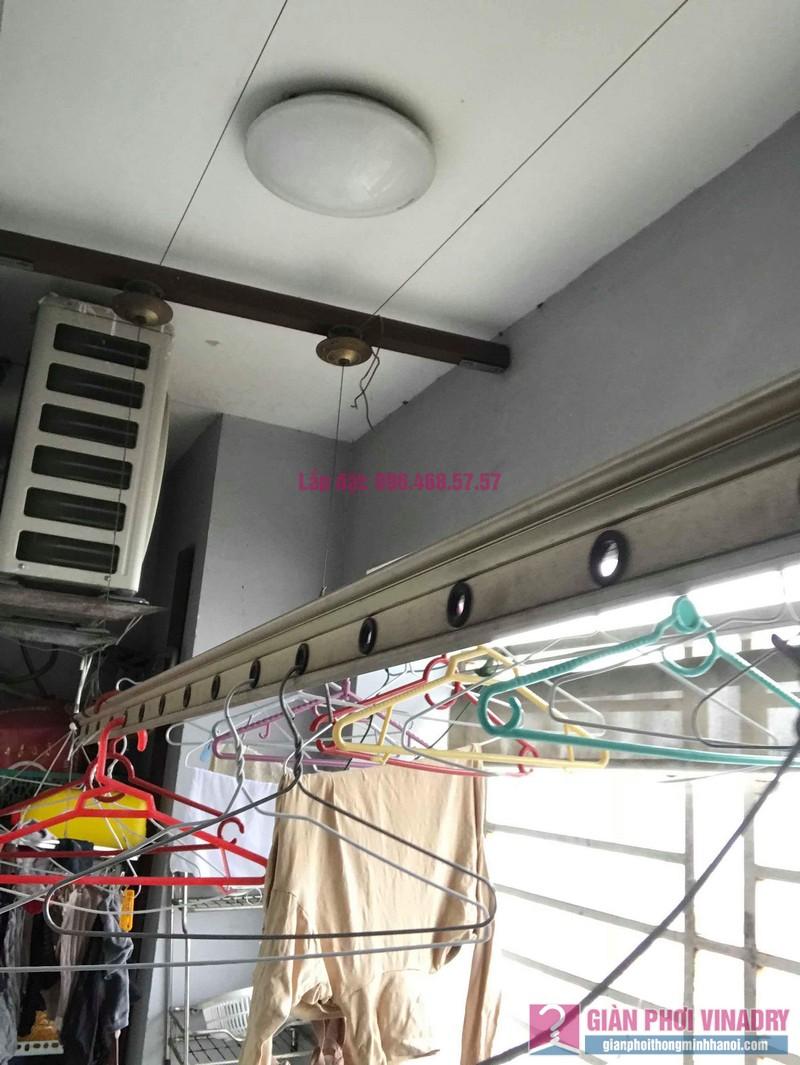 Sửa giàn phơi thông minh nhập khẩu nhà chị Hằng, chung cư Cienco1, Thanh Xuân, Hà Nội - 08