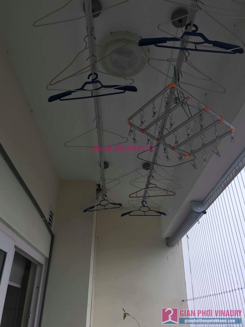 Sửa giàn phơi nhà anh Chính, CT1a chung cư Nam Đô Complex, Hoàng Mai, Hà Nội - 08