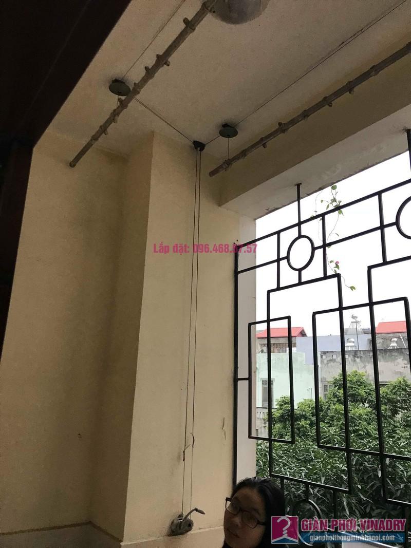 Sửa giàn phơi Ba Sao nhà chị Ngoan chung cư 699 Trương Định, Hoàng Mai, Hà Nội - 09