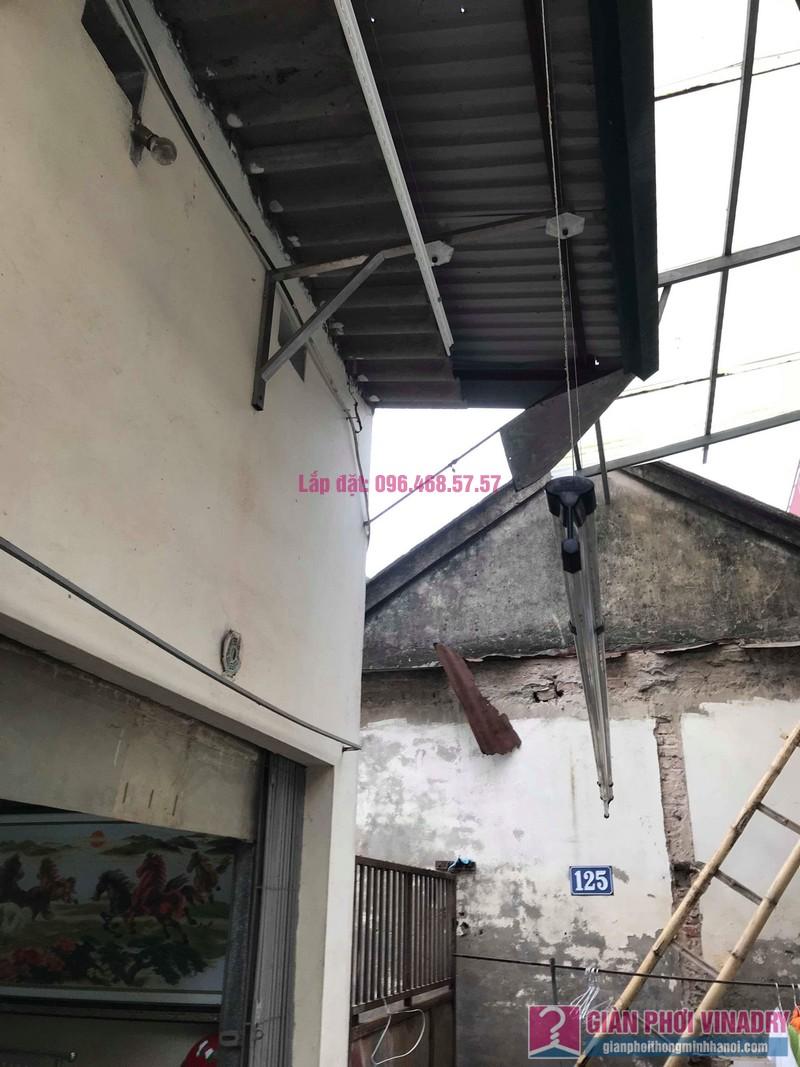 Sửa giàn phơi quần áo nhà cô Hạnh, ngõ 116, đường 70, P. kiến Hưng, Hà Đông - 01