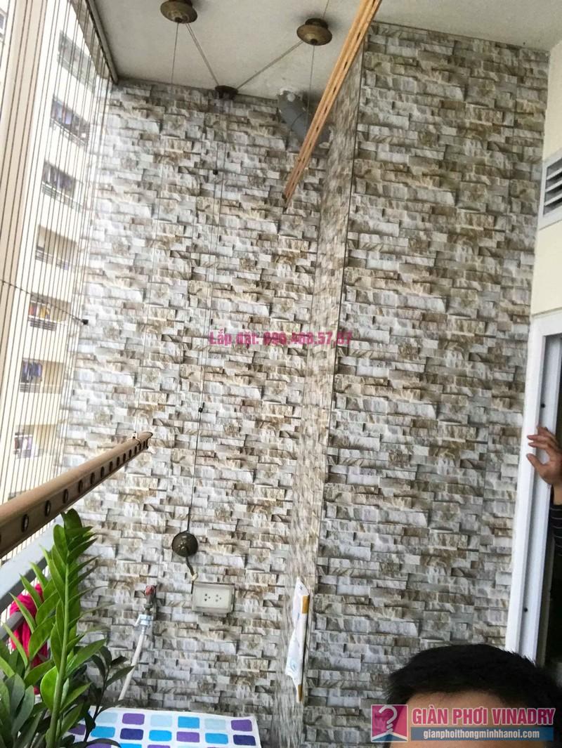 Sửa giàn phơi nhà chị Hiên, chung cư Nam Đô Complex, Hoàng Mai, Hà Nội - 01