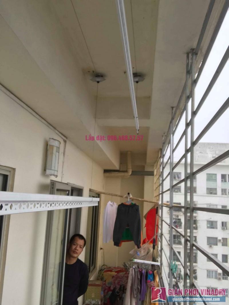 Lắp giàn phơi Hoàng Mai nhà anh Tùng, tòa A3 chung cư 151A nguyễn đức cảnh - 01