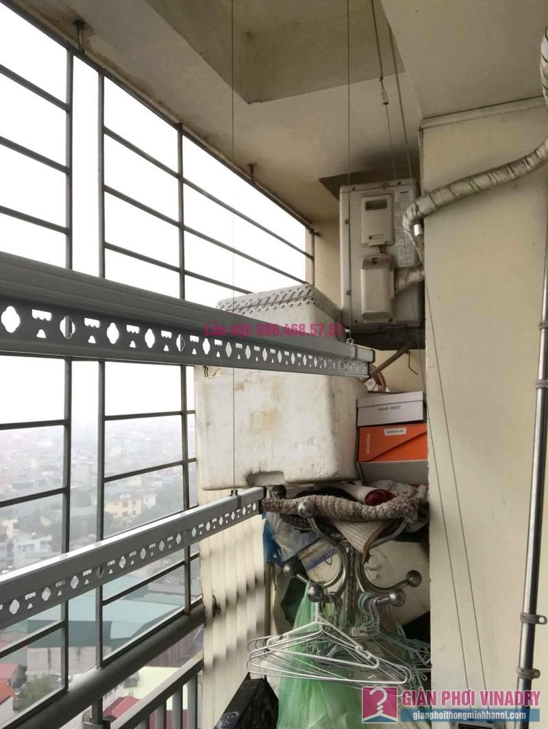 Lắp giàn phơi Hoàng Mai nhà anh Tùng, tòa A3 chung cư 151A nguyễn đức cảnh - 02