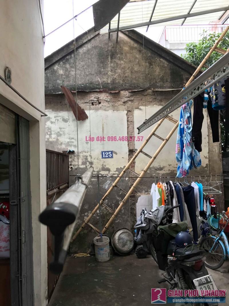 Sửa giàn phơi quần áo nhà cô Hạnh, ngõ 116, đường 70, P. kiến Hưng, Hà Đông - 03