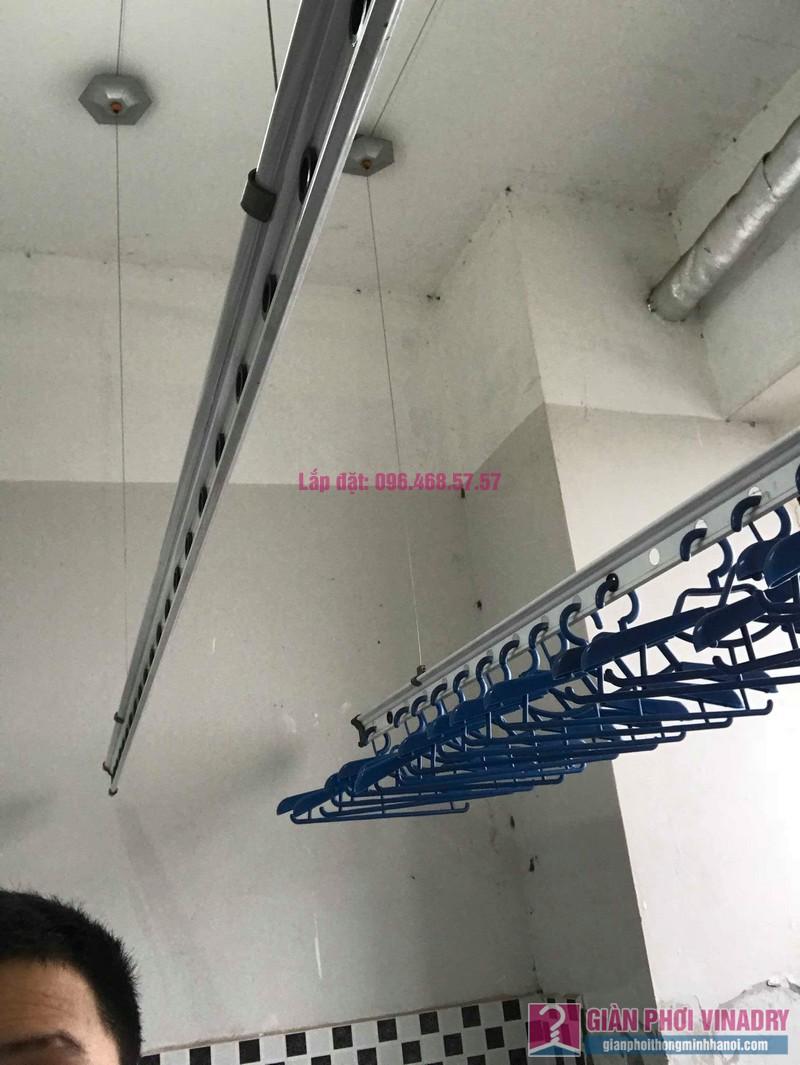 Sửa giàn phơi thông minh nhà anh Năng, chung cư VP5 Linh Đàm - 03