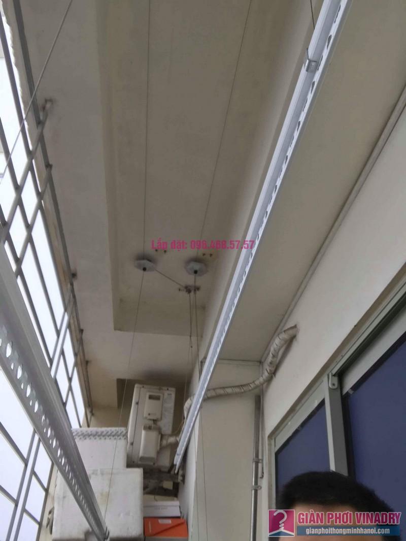 Lắp giàn phơi Hoàng Mai nhà anh Tùng, tòa A3 chung cư 151A nguyễn đức cảnh - 03