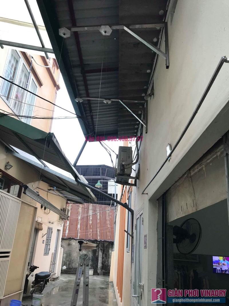 Sửa giàn phơi quần áo nhà cô Hạnh, ngõ 116, đường 70, P. kiến Hưng, Hà Đông - 04