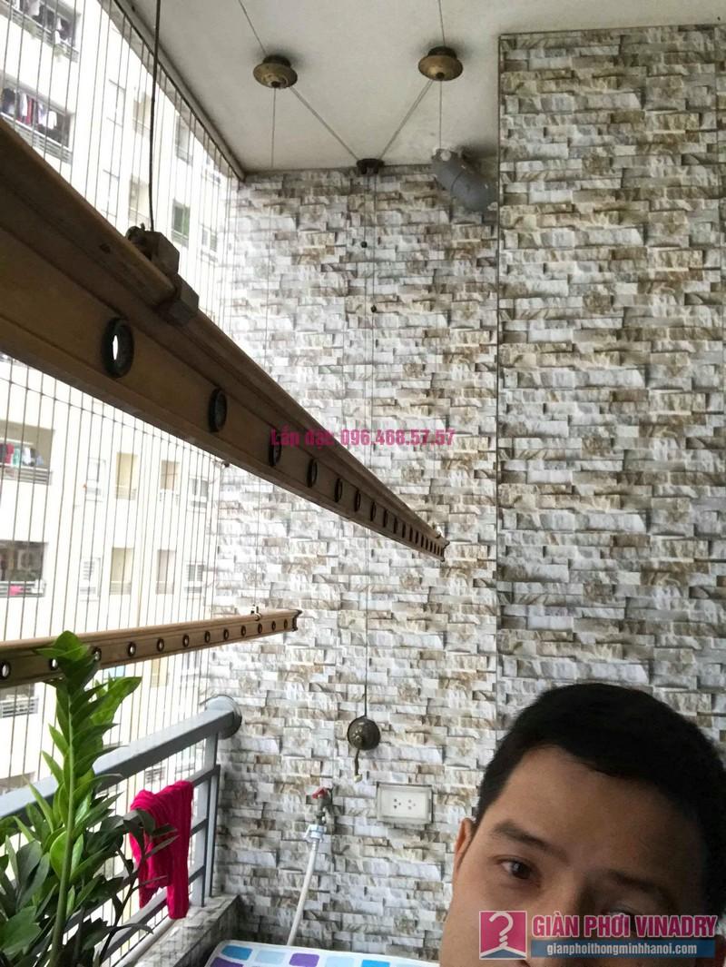 Sửa giàn phơi nhà chị Hiên, chung cư Nam Đô Complex, Hoàng Mai, Hà Nội - 04