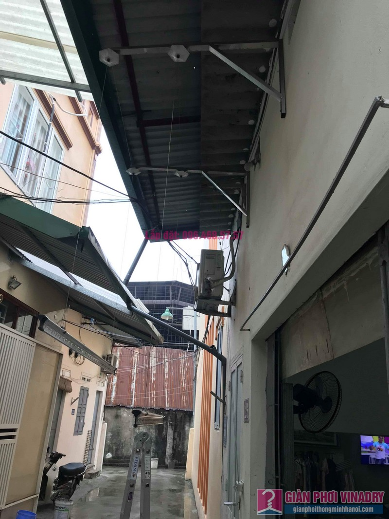 Sửa giàn phơi quần áo nhà cô Hạnh, ngõ 116, đường 70, P. kiến Hưng, Hà Đông - 05