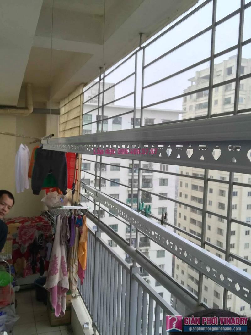 Lắp giàn phơi Hoàng Mai nhà anh Tùng, tòa A3 chung cư 151A nguyễn đức cảnh - 05