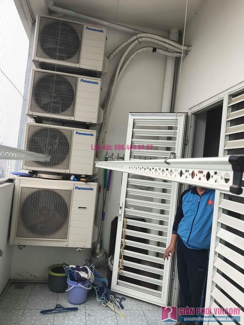 Sửa giàn phơi quần áo nhà chú Hải, chung cư Điện Lực, số 1 Ngụy Như KonTum, Thanh Xuân, Hà Nội - 05