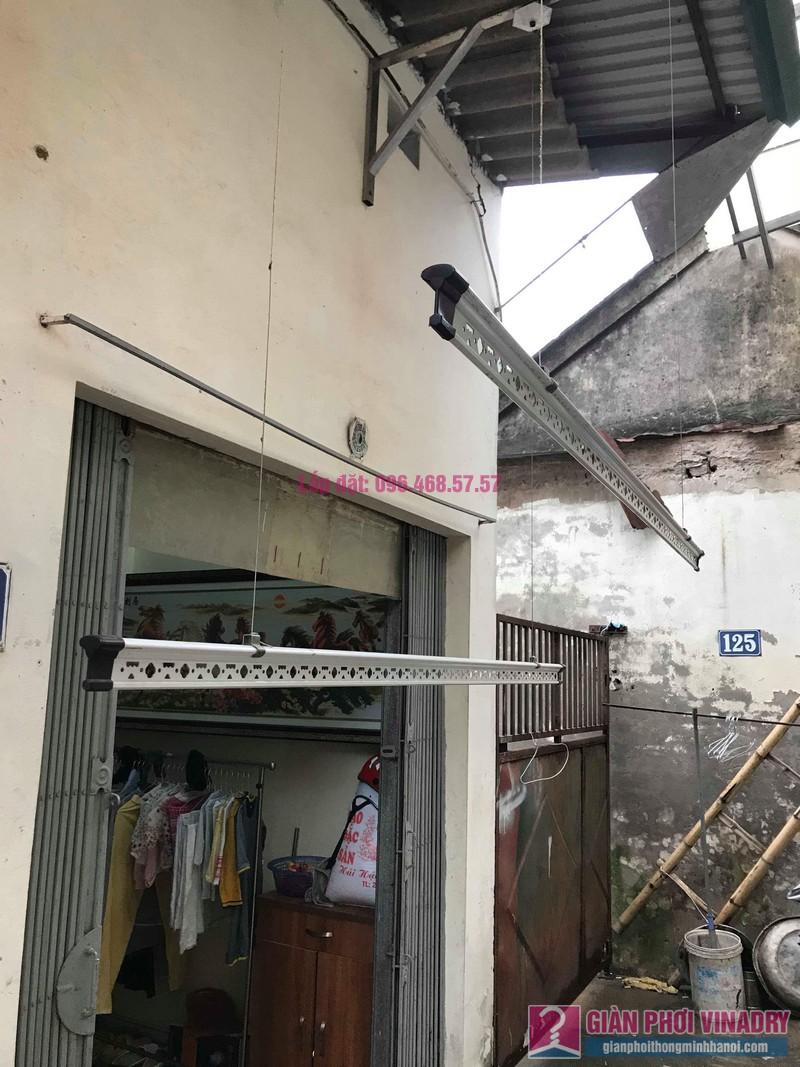 Sửa giàn phơi quần áo nhà cô Hạnh, ngõ 116, đường 70, P. kiến Hưng, Hà Đông - 06