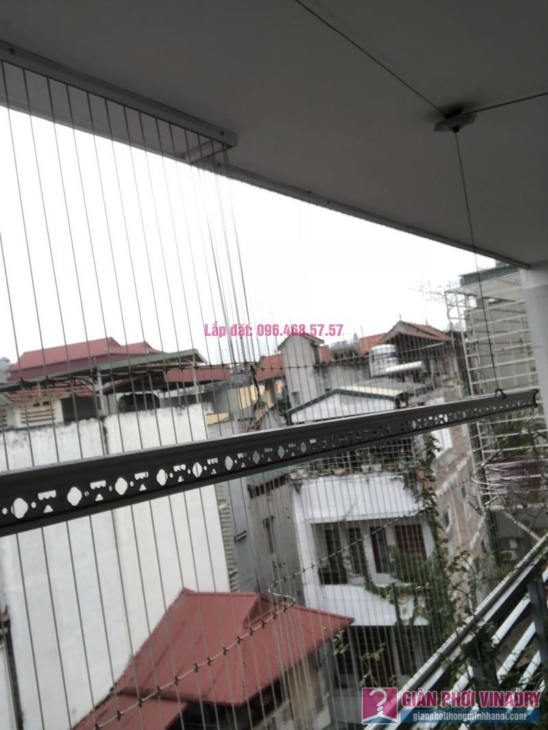 Thay bộ tời giàn phơi 999B nhà chị Toan, Ngõ 113 Yên Hòa, Cầu Giấy - 08