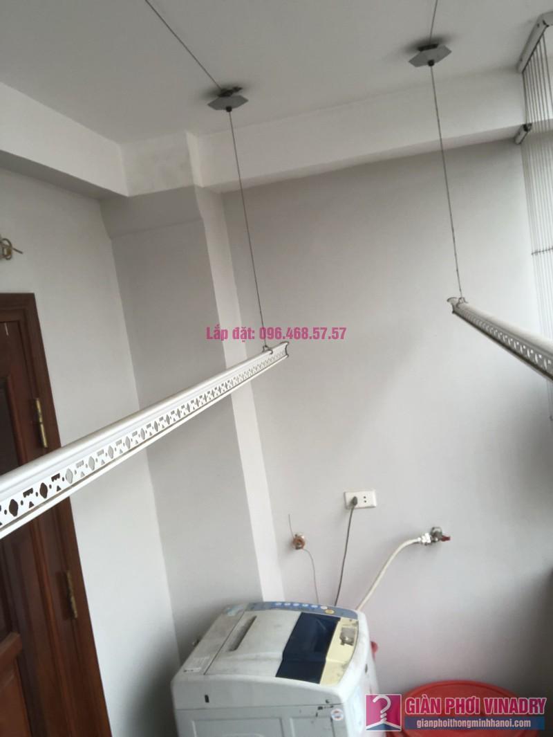 Thay bộ tời giàn phơi 999B nhà chị Toan, Ngõ 113 Yên Hòa, Cầu Giấy - 07