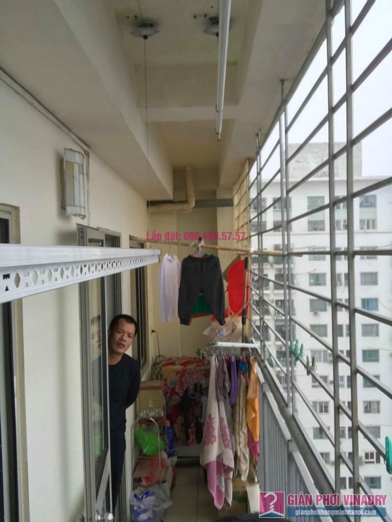 Lắp giàn phơi Hoàng Mai nhà anh Tùng, tòa A3 chung cư 151A nguyễn đức cảnh - 07