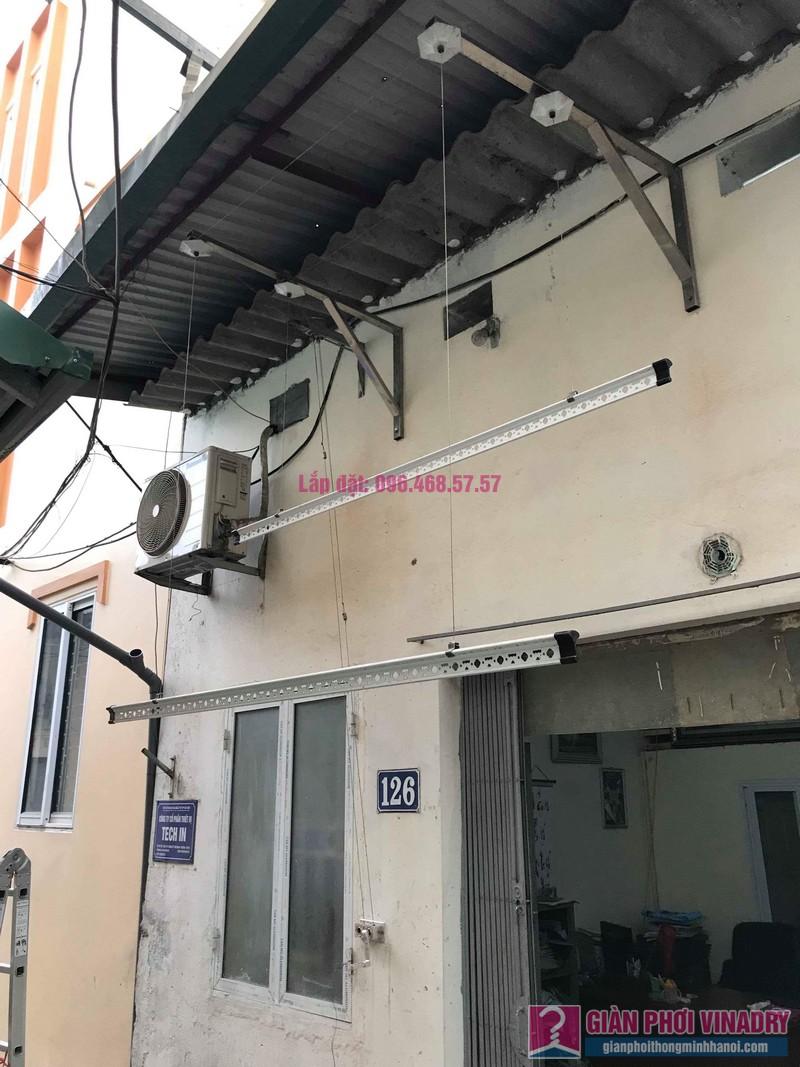 Sửa giàn phơi quần áo nhà cô Hạnh, ngõ 116, đường 70, P. kiến Hưng, Hà Đông - 08