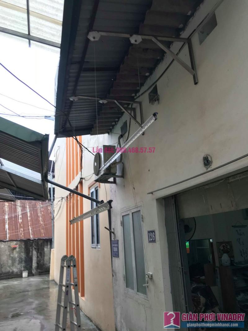 Sửa giàn phơi quần áo nhà cô Hạnh, ngõ 116, đường 70, P. kiến Hưng, Hà Đông - 09