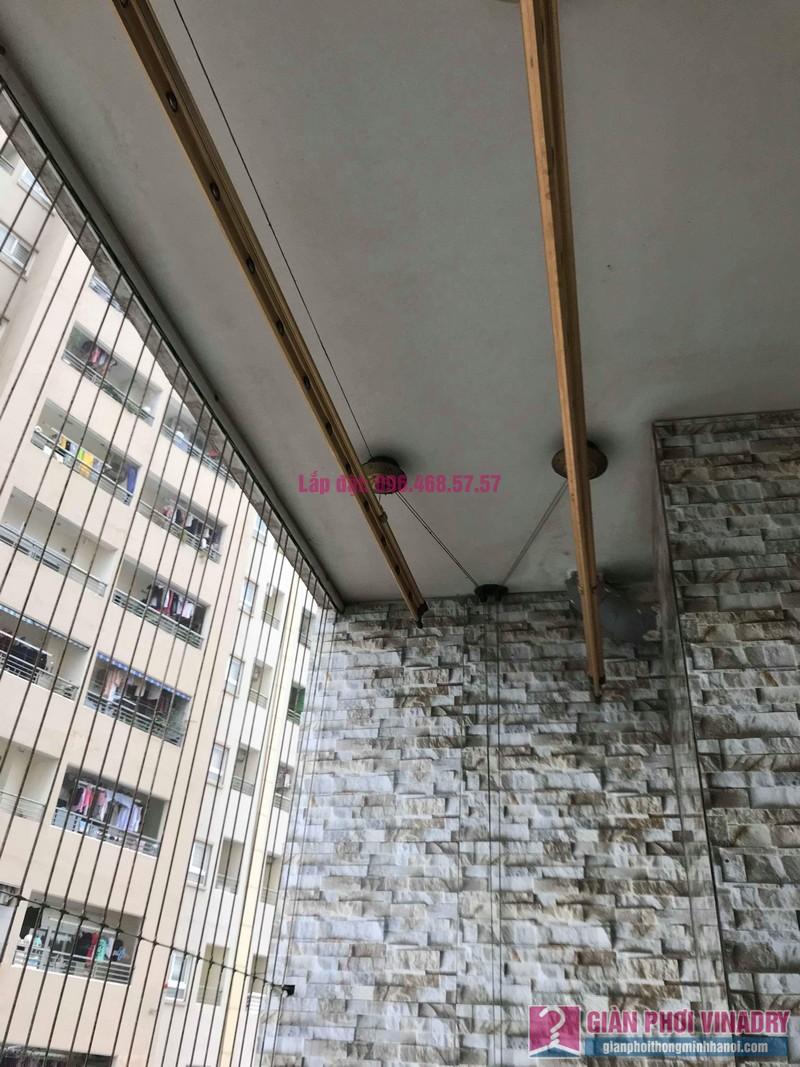 Sửa giàn phơi nhà chị Hiên, chung cư Nam Đô Complex, Hoàng Mai, Hà Nội - 09