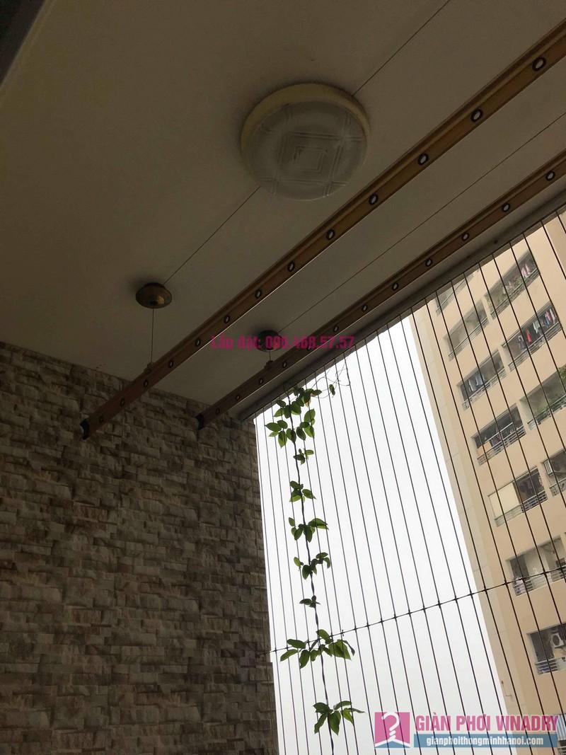 Sửa giàn phơi nhà chị Hiên, chung cư Nam Đô Complex, Hoàng Mai, Hà Nội - 10