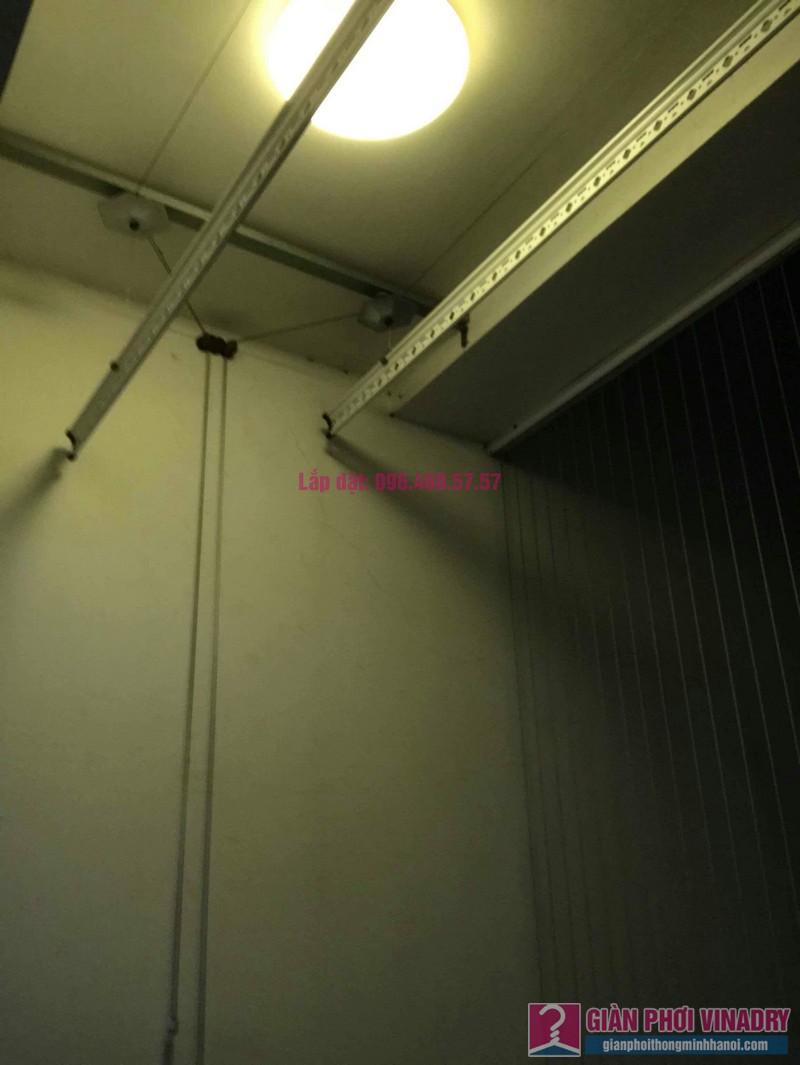 Sửa giàn phơi thông minh 999B nhà chị Nga, Tòa T3, Times City, Hai Bà Trưng, Hà Nội - 01